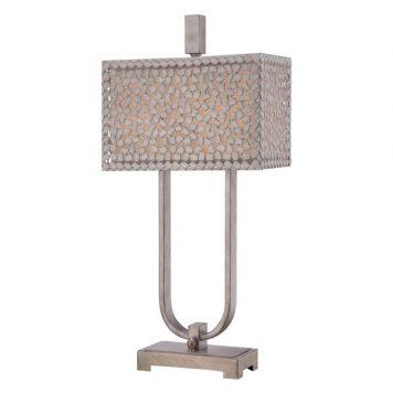 Confetti Lampa nowoczesna – Z abażurem – kolor srebrny
