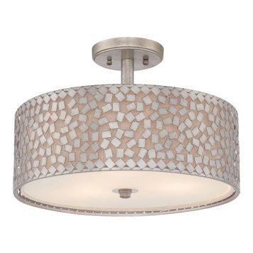 Confetti Lampa sufitowa – Plafony – kolor srebrny