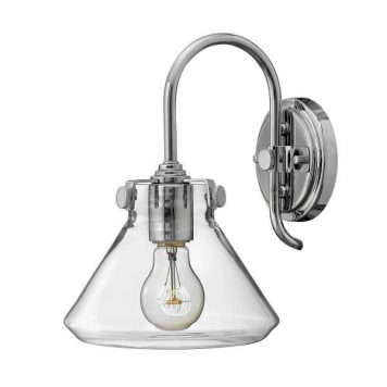 Congress Lampa industrialna – industrialny – kolor srebrny, transparentny