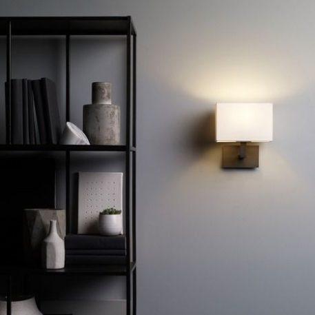 Connaught Lampa nowoczesna – Styl nowoczesny – kolor biały, brązowy