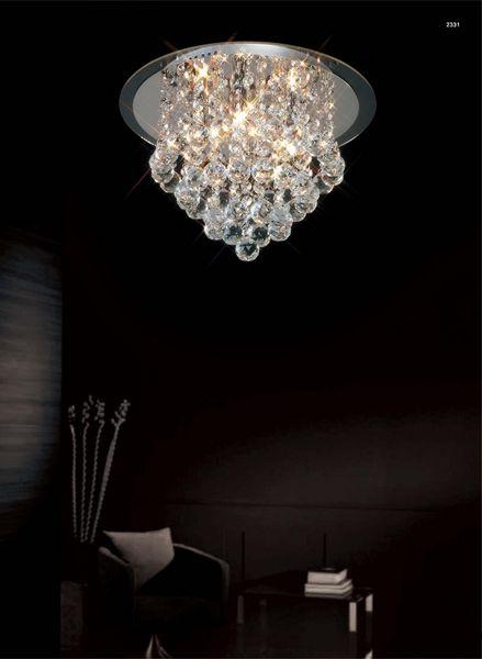 Cool 2L Lampa sufitowa – Styl glamour – kolor srebrny