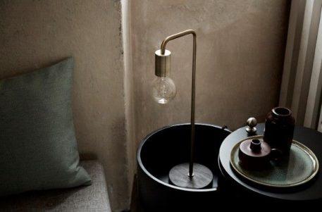 Cool Lampa industrialna – industrialny – kolor mosiądz, złoty