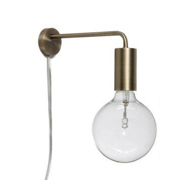 Cool Lampa nowoczesna – industrialny – kolor mosiądz, złoty