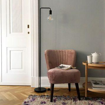 Cool Lampa podłogowa – Styl nowoczesny – kolor mat, Czarny