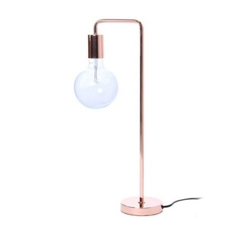 Cool Lampa skandynawska – industrialny – kolor miedź