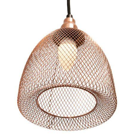 Copper Chic Lampa wisząca – industrialny – kolor miedź