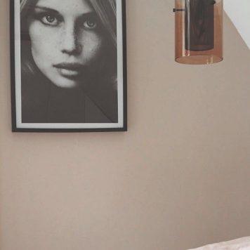 Cora Lampa wisząca – Styl nowoczesny – kolor miedź, Czarny