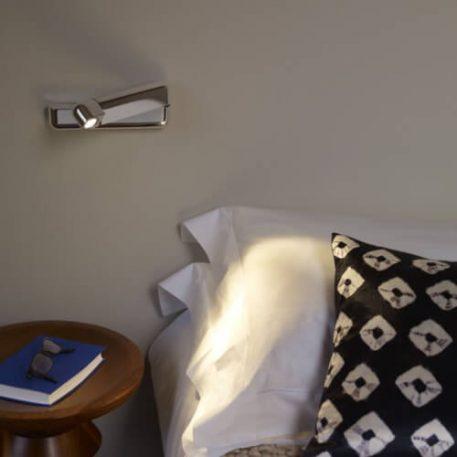 Corsa Lampa nowoczesna – Lampy i oświetlenie LED – kolor srebrny