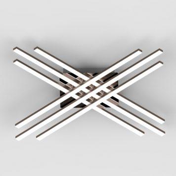 Cross  Lampa sufitowa – Lampy i oświetlenie LED – kolor srebrny