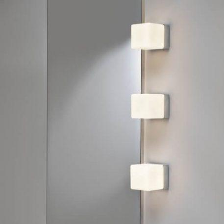 Cube Lampa nowoczesna – Styl nowoczesny – kolor biały, srebrny