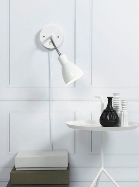 Cyclone Lampa skandynawska – Styl nowoczesny – kolor biały