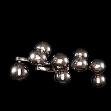 Dallas  Lampa nowoczesna – Styl nowoczesny – kolor srebrny, Szary