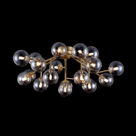 Dallas  Lampa sufitowa – szklane – kolor beżowy, złoty