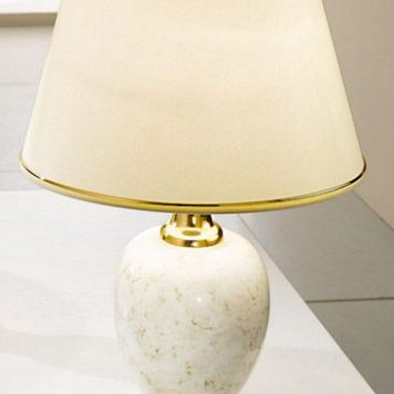 Dauphin Lampa klasyczna – klasyczny – kolor beżowy, złoty