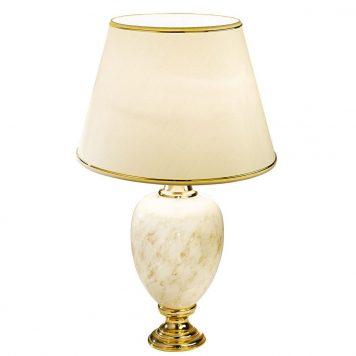 Dauphin Lampa klasyczna – Z abażurem – kolor beżowy, złoty