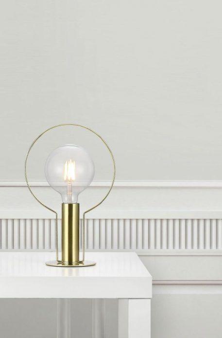 Dean Lampa nowoczesna – Styl nowoczesny – kolor złoty