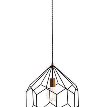 Deco Lampa wisząca – Styl nowoczesny – kolor Czarny