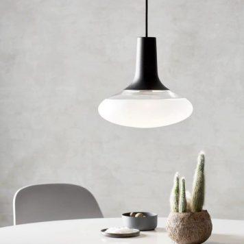 Dee 2.0 Lampa wisząca – szklane – kolor biały, Czarny