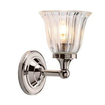 Devon Lampa klasyczna – szklane – kolor połysk, srebrny, transparentny