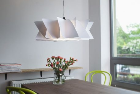Diamond Lampa wisząca – kolor biały