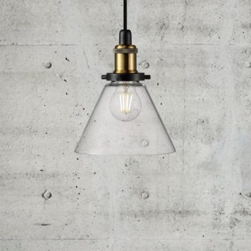 Disa Lampa wisząca – szklane – kolor transparentny