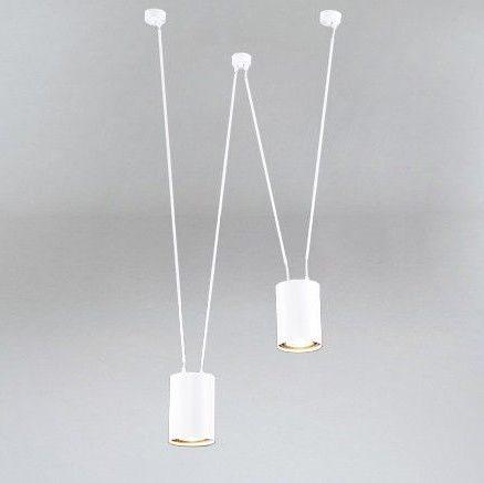 DOHAR Lampa wisząca – Styl nowoczesny – kolor biały