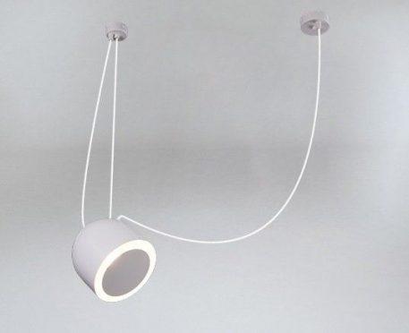 DOHAR Lampa wisząca – Styl nowoczesny – kolor Szary