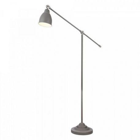Domino  Lampa podłogowa – klasyczny – kolor Szary