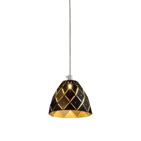 Dori  Lampa wisząca – Styl nowoczesny – kolor złoty, Czarny