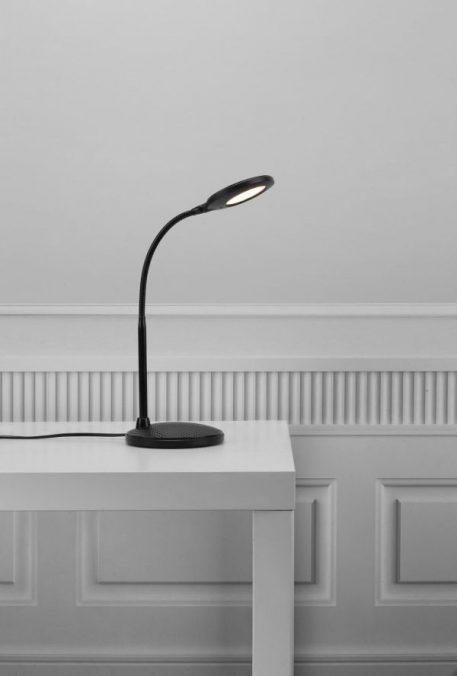 Dove Lampa LED – Styl nowoczesny – kolor Czarny