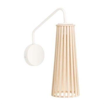 Dover  Lampa skandynawska – Styl skandynawski – kolor biały, brązowy
