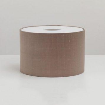 Drum Abażur – kolor beżowy, brązowy
