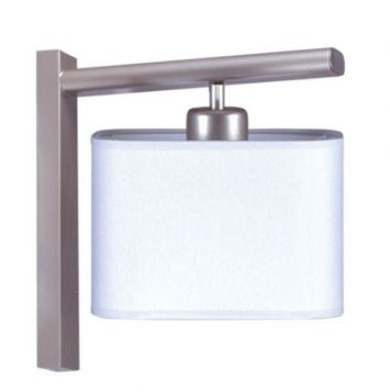 Duet Lampa modern classic – klasyczny – kolor biały, srebrny