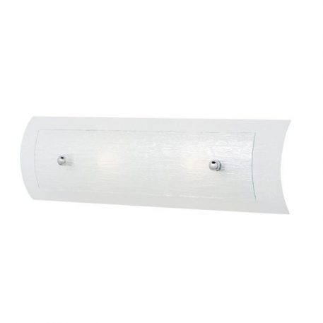 Duet Lampa nowoczesna – szklane – kolor biały