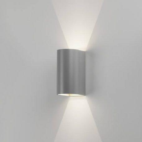 Dunbar Lampa LED – Styl nowoczesny – kolor srebrny, Szary
