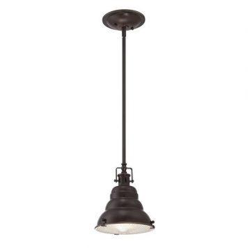 East Vale Lampa wisząca – industrialny – kolor brązowy