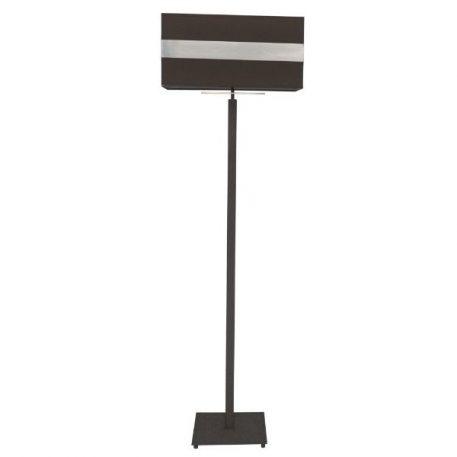 Ebi  Lampa podłogowa – Z abażurem – kolor brązowy