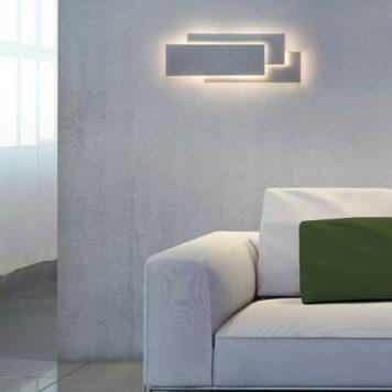 Edge Lampa LED – Styl nowoczesny – kolor biały