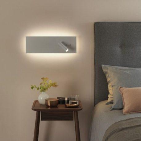 Edge Lampa nowoczesna – Do czytania – kolor biały