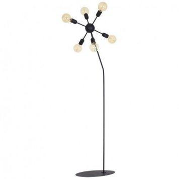 Eko Lampa podłogowa – Wielopunktowe – kolor Czarny