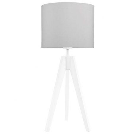 Elegance Lampa skandynawska – trójnogi – kolor biały, Szary