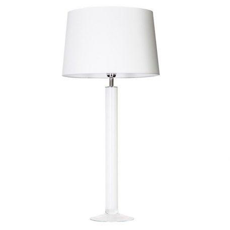 Fjord  Lampa stołowa – Z abażurem – kolor biały