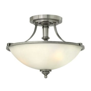 Eliza Lampa sufitowa – klasyczny – kolor biały, srebrny