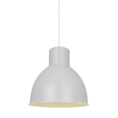 Elstra Lampa wisząca – industrialny – kolor biały