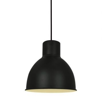 Elstra Lampa wisząca – Styl skandynawski – kolor Czarny