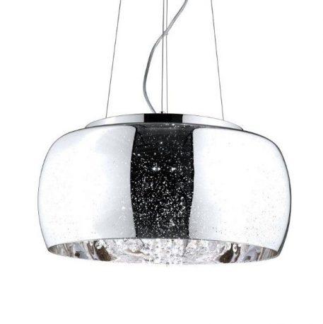 Elysium  Lampa wisząca – Styl nowoczesny – kolor srebrny