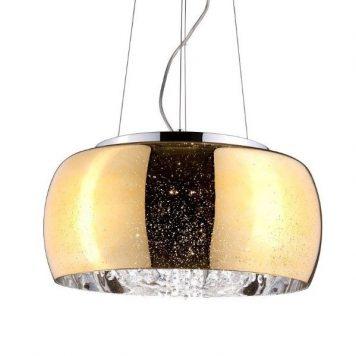 Elysium Lampa wisząca – szklane – kolor złoty