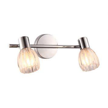 Embo Lampa klasyczna – szklane – kolor srebrny