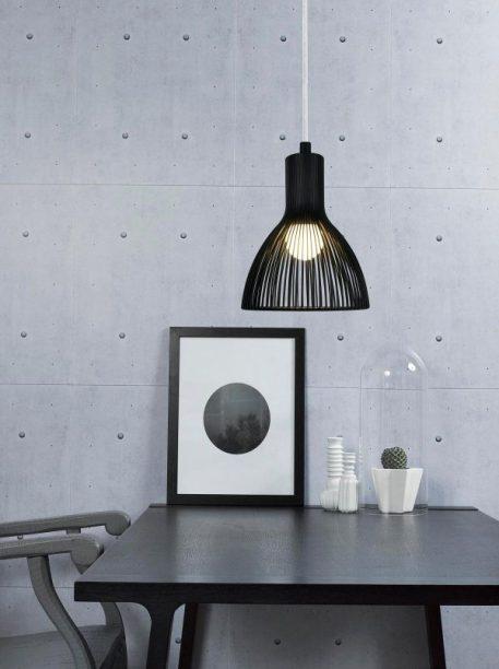 Emition Lampa wisząca – industrialny – kolor Czarny