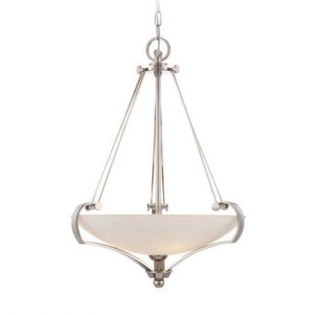 Empire Lampa wisząca – szklane – kolor srebrny
